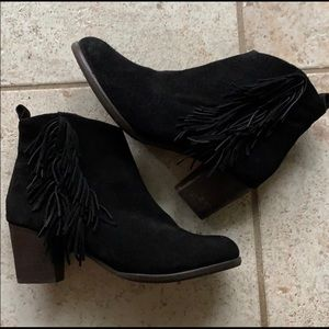 Matisse Cloey suede Ankle booties